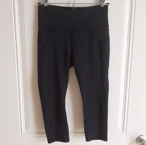 Athleta Petites Stealth Trucool Crop Capri Size SP